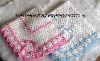 Baby pram blanket - personalized baby blankets