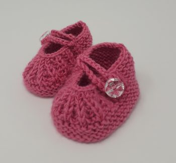 Raspberry pink Daisy Shoes