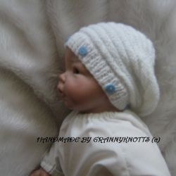 Chunky Baby Slouch Hat