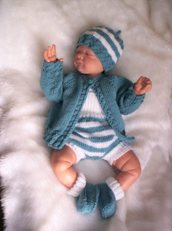 Storm Blue Romper outfit