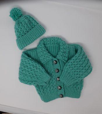 Aspen Aran jacket &Hat